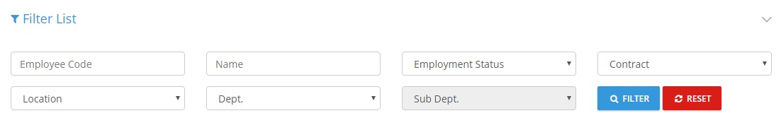 Employees Listing_Filter